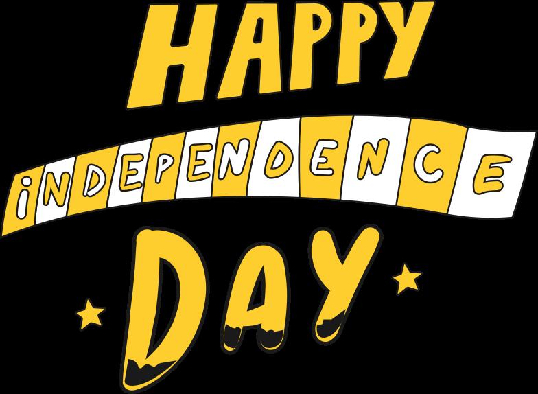 independence Clipart illustration in PNG, SVG