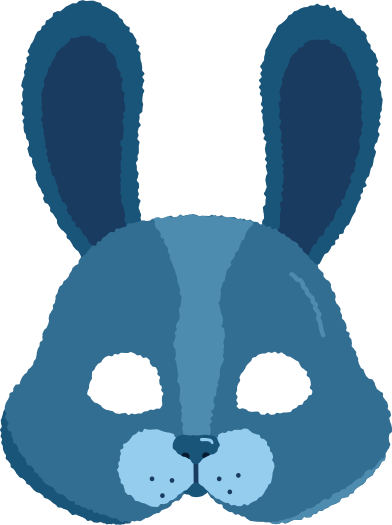style mask rabbit images in PNG and SVG   Icons8 Illustrations