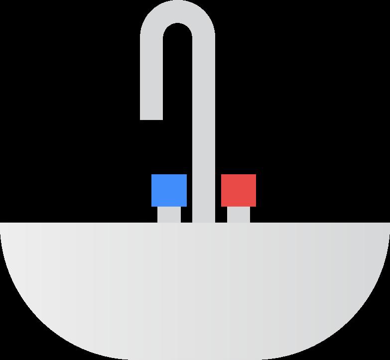 basin Clipart illustration in PNG, SVG