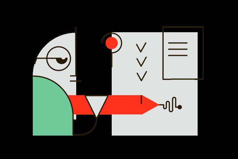 Examination Clipart illustration in PNG, SVG