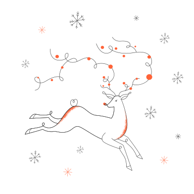style Snow and deer images in PNG and SVG | Icons8 Illustrations