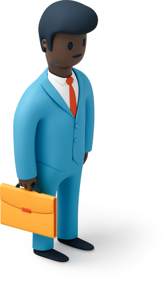 style Businessman with briefcase Vector images in PNG and SVG | Icons8 Illustrations