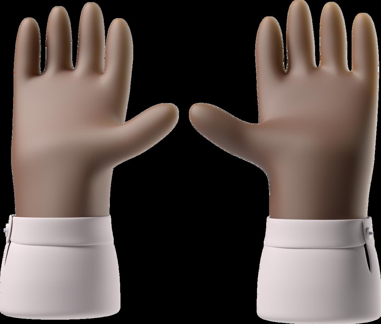 raising hands Clipart illustration in PNG, SVG