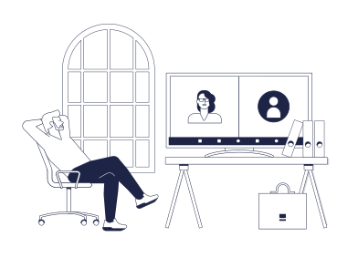 style Online meeting images in PNG and SVG | Icons8 Illustrations