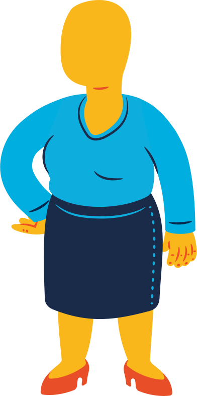 style chubby woman standing images in PNG and SVG | Icons8 Illustrations