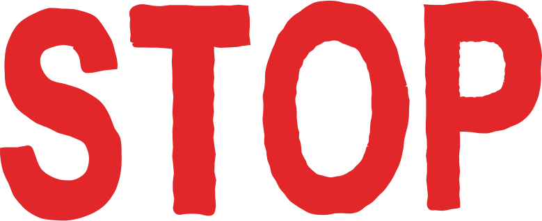 stop Clipart illustration in PNG, SVG