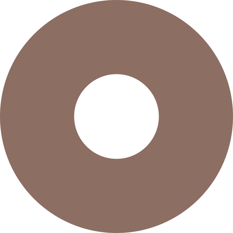 ring brown Clipart illustration in PNG, SVG