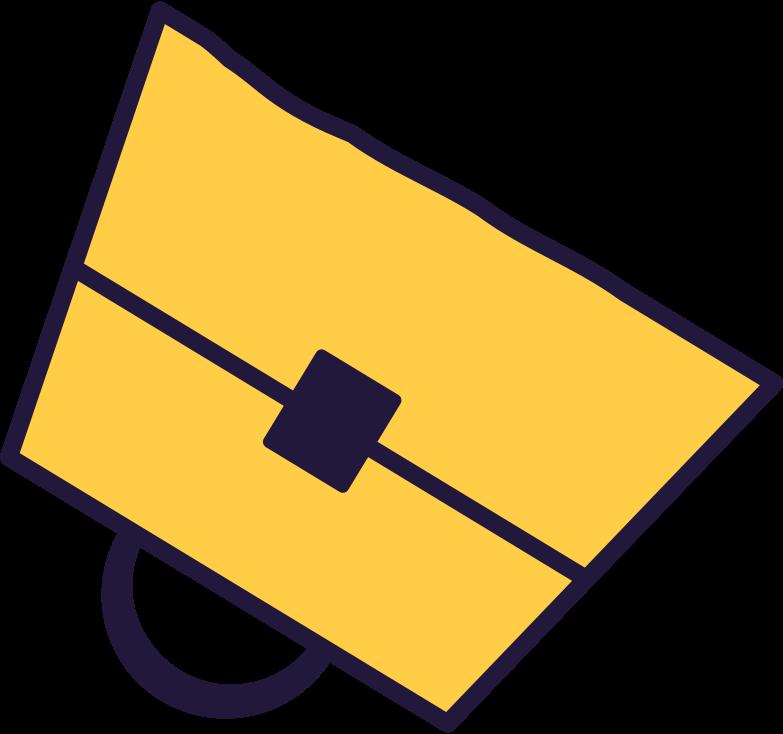 uploading  bag Clipart illustration in PNG, SVG