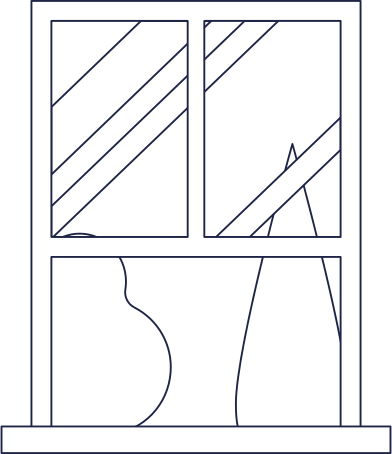 style window in room 1 line images in PNG and SVG | Icons8 Illustrations