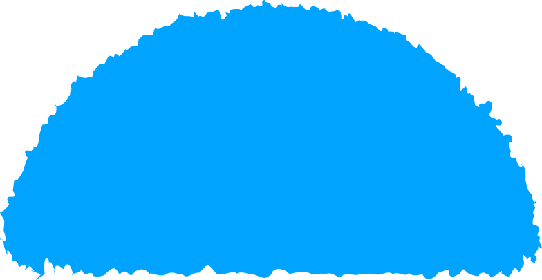 style semicircle sky blue Vector images in PNG and SVG | Icons8 Illustrations