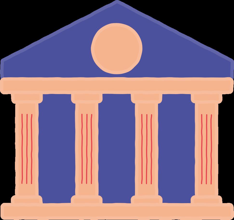 Ilustración de clipart de banco en PNG, SVG