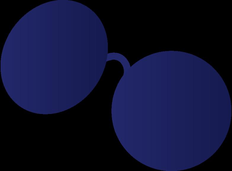 sun glasses Clipart illustration in PNG, SVG