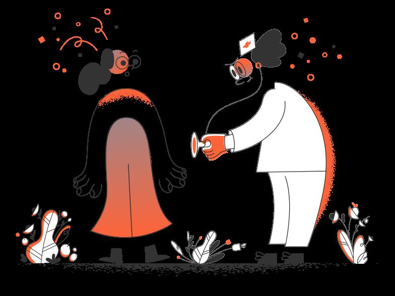 Medical check Clipart illustration in PNG, SVG