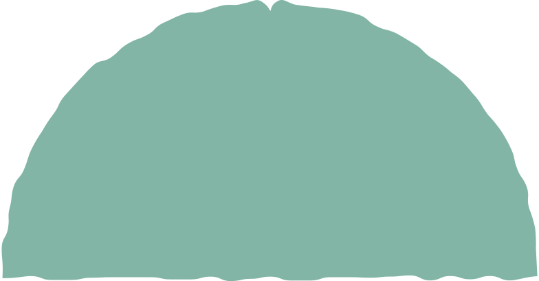 semicircle green Clipart illustration in PNG, SVG