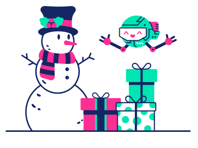 style Robot Success images in PNG and SVG | Icons8 Illustrations