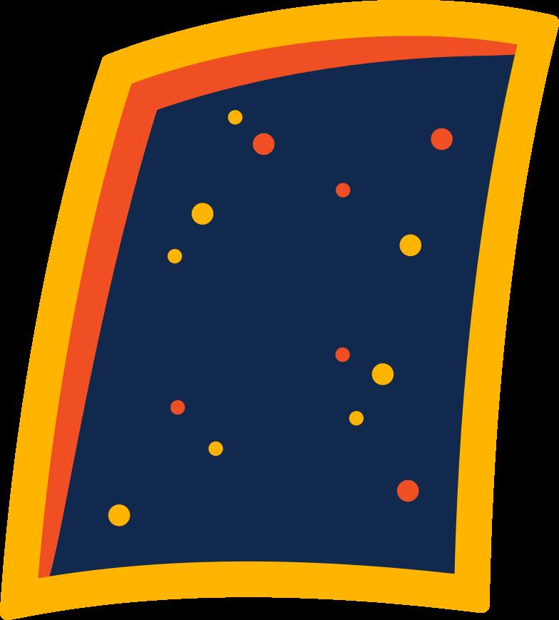 Ilustración de clipart de Marco de la ventana en PNG, SVG
