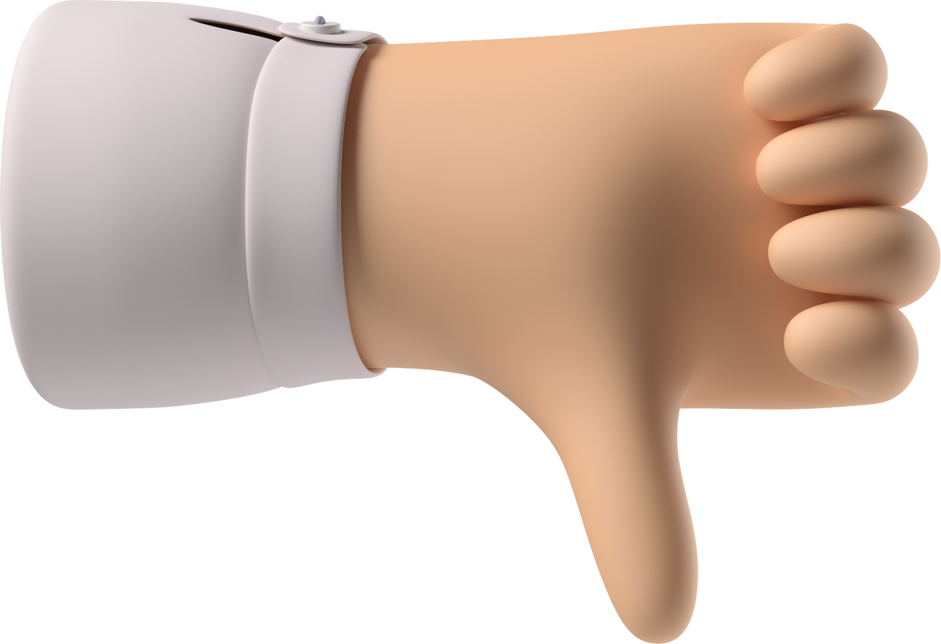 thumbs down Clipart illustration in PNG, SVG