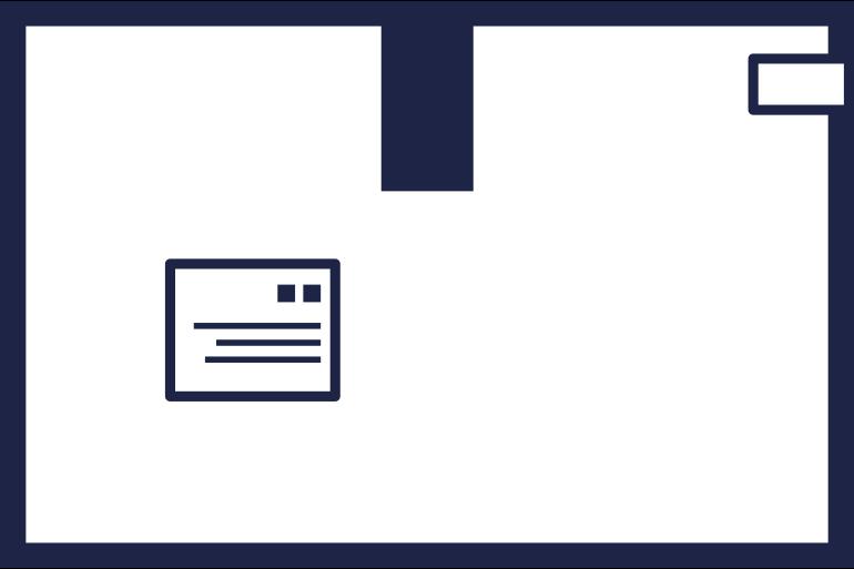 box 5 line Clipart illustration in PNG, SVG