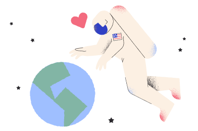 style Astronaut misses home images in PNG and SVG   Icons8 Illustrations