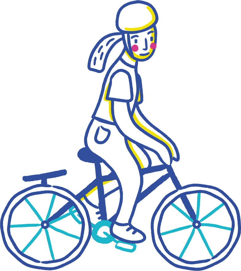 style bicyclist Vector images in PNG and SVG | Icons8 Illustrations