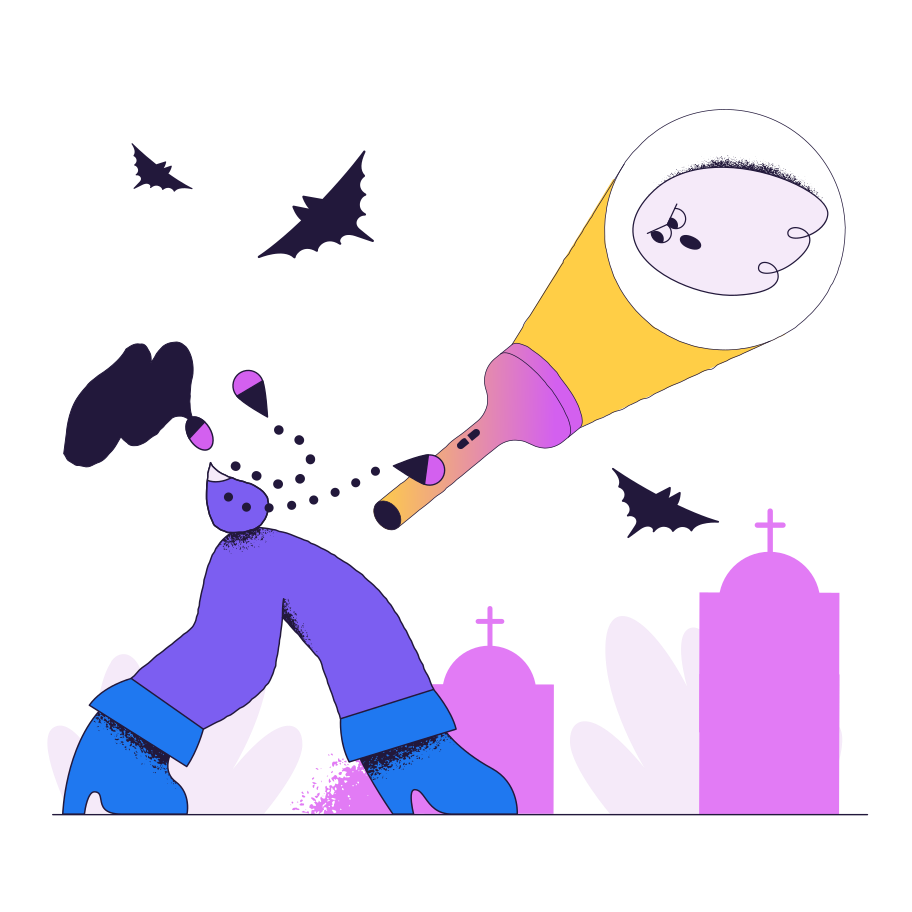 Ghost Clipart illustration in PNG, SVG