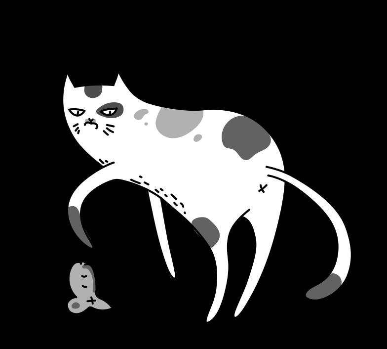PNGとSVGの  スタイルの うーん、ネズミの死骸! ベクターイメージ | Icons8 イラスト
