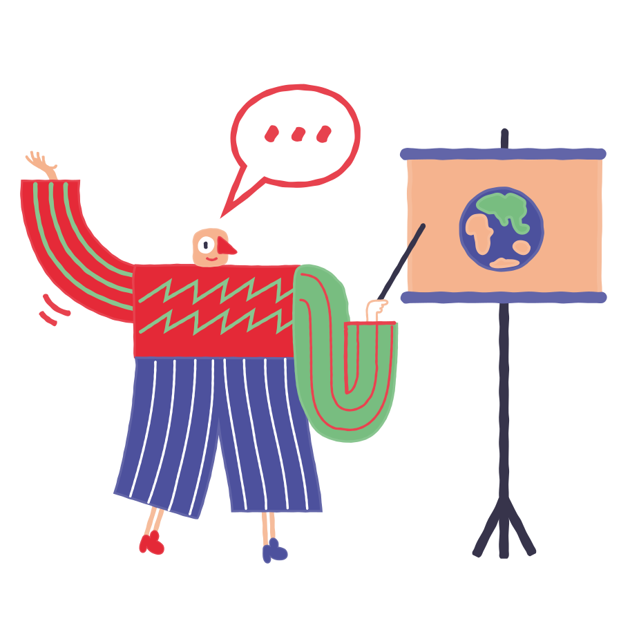Geographer Clipart illustration in PNG, SVG
