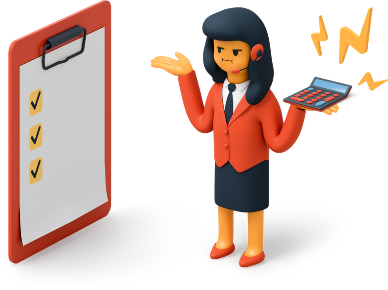 business woman angry Clipart illustration in PNG, SVG