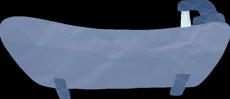 Illustration clipart une baignoire aux formats PNG, SVG