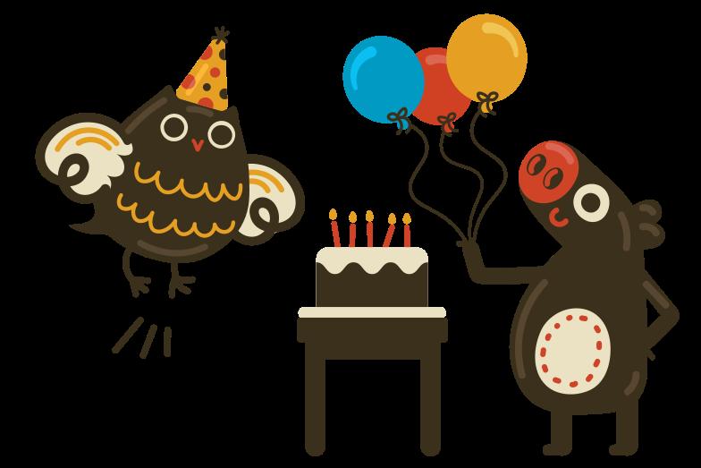 お誕生日 のPNG、SVGクリップアートイラスト