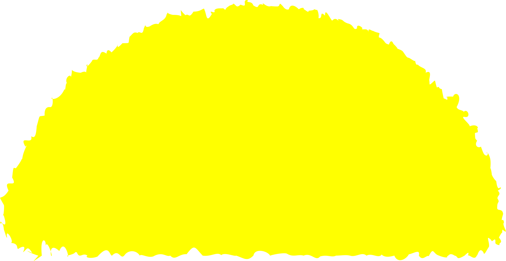 style semicircle yellow Vector images in PNG and SVG | Icons8 Illustrations