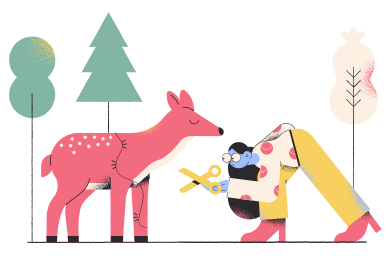 style Caring about wildlife images in PNG and SVG   Icons8 Illustrations