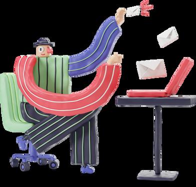 Иллюстрация New mail в стиле  в PNG и SVG | Icons8 Иллюстрации
