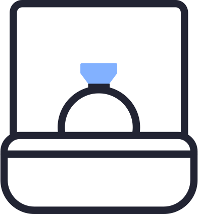 style ring box images in PNG and SVG | Icons8 Illustrations