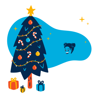 style Child enjoying Christmas images in PNG and SVG | Icons8 Illustrations