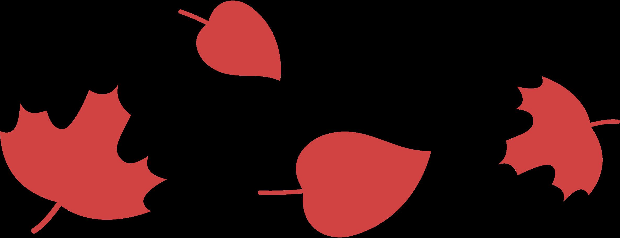 Ilustración de clipart de hojas en PNG, SVG