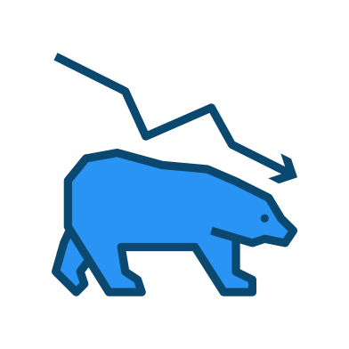 style Bear market images in PNG and SVG | Icons8 Illustrations