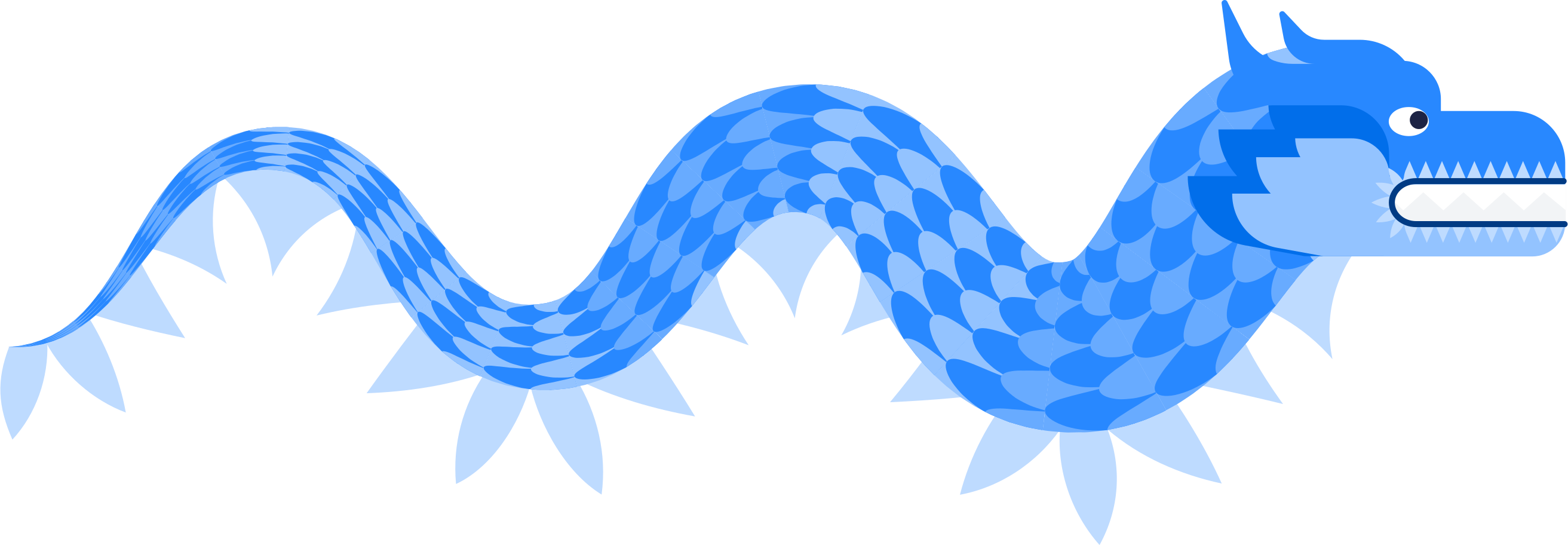 dragon paper Clipart illustration in PNG, SVG