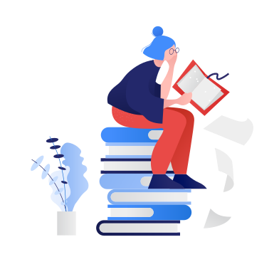 style Reading books images in PNG and SVG | Icons8 Illustrations