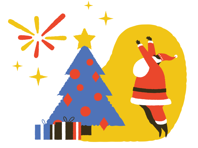 style It's Christmas time! Vector images in PNG and SVG | Icons8 Illustrations