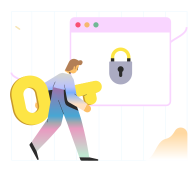 style Secure browser images in PNG and SVG | Icons8 Illustrations