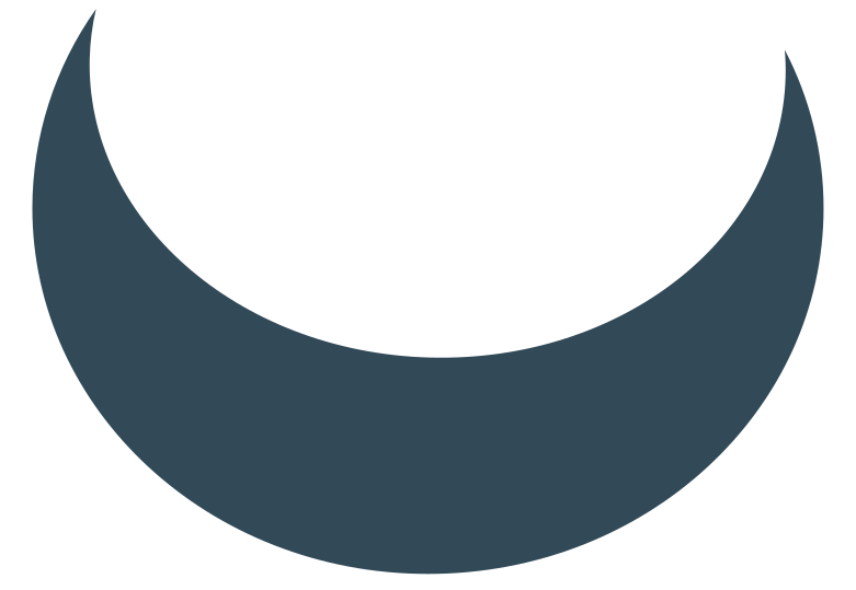 style crescent dark blue Vector images in PNG and SVG | Icons8 Illustrations