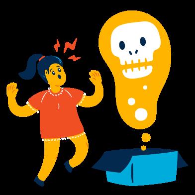 Иллюстрация Ящик пандоры в стиле  в PNG и SVG | Icons8 Иллюстрации