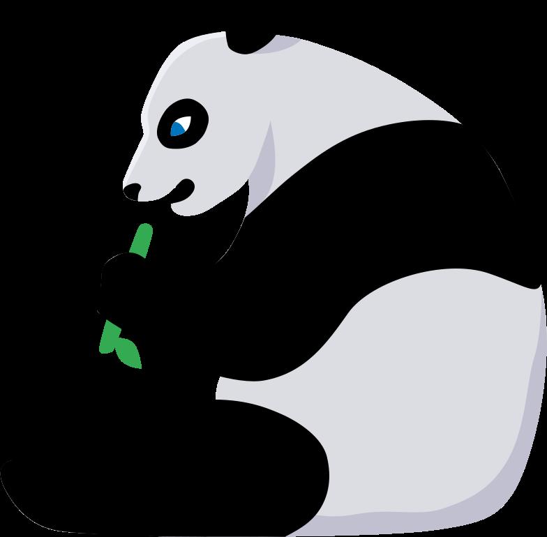 panda Clipart illustration in PNG, SVG