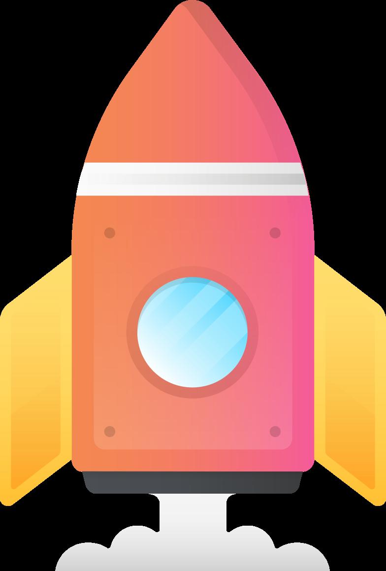 Ilustración de clipart de rocket en PNG, SVG