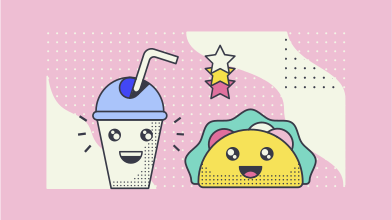 style Cute food  images in PNG and SVG | Icons8 Illustrations