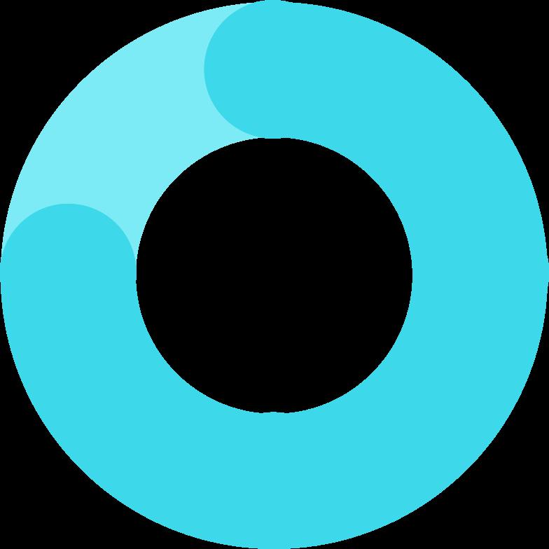 Иллюстрация электронная схема кольца из синего стекла в стиле  в PNG и SVG | Icons8 Иллюстрации
