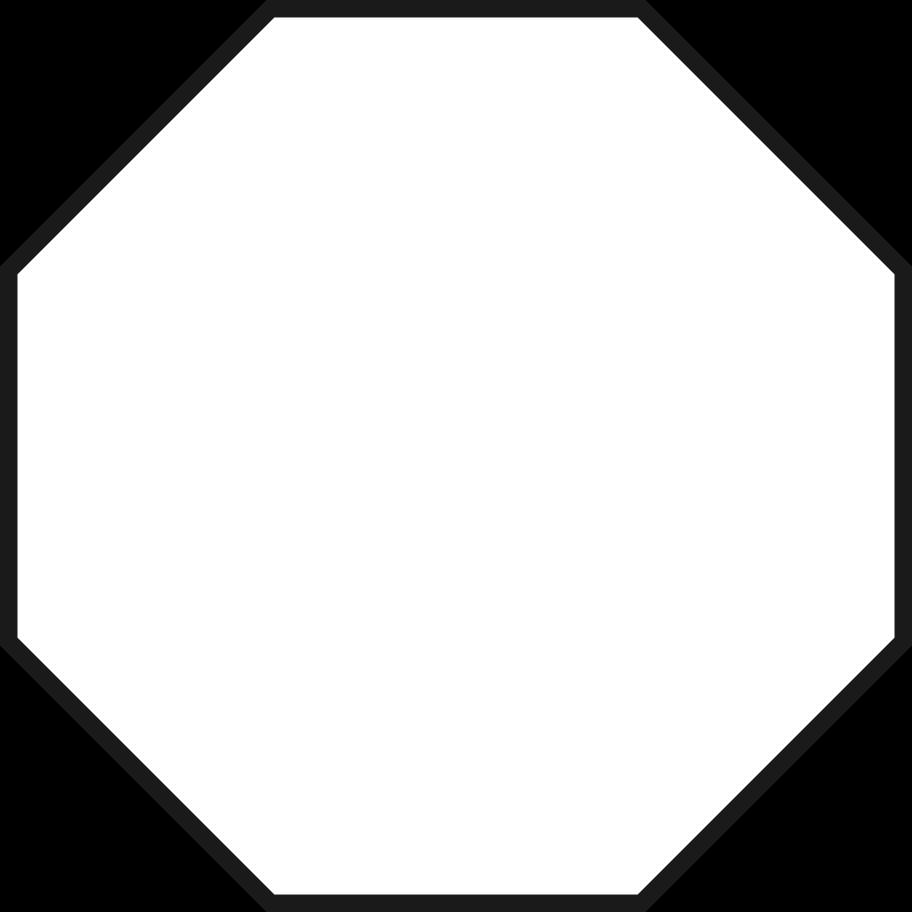 octagon Clipart illustration in PNG, SVG