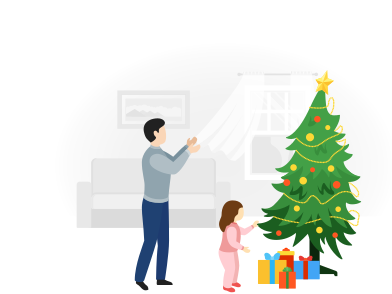 style Time to get your Christmas gift images in PNG and SVG | Icons8 Illustrations