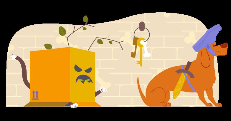 Information theft Clipart illustration in PNG, SVG